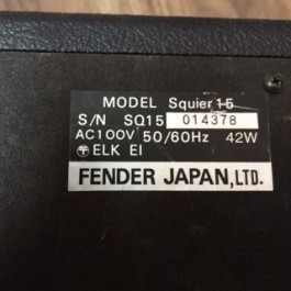 Fender Squier 15