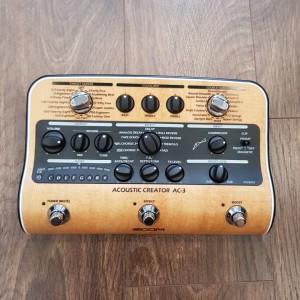 ZOOM Acoustic creator AC3